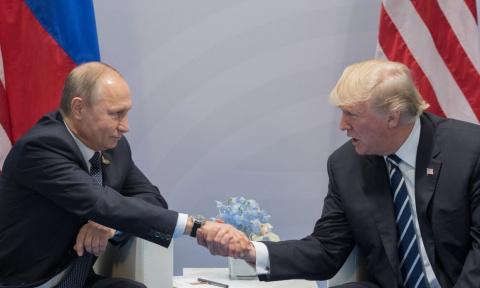Путин и Трамп обсудили Украи…