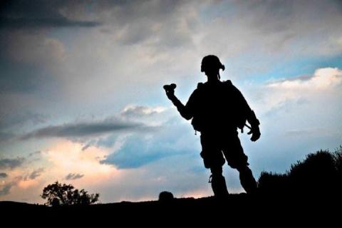 Сосед, служивший в Афгане, р…