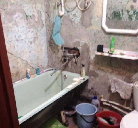 Ванная комната для мамы свои…