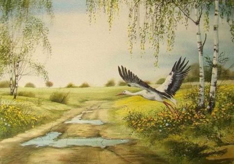 Пейзажи. Польская художница Beata Gugnacka