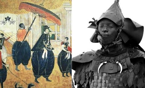 История первого темнокожего …