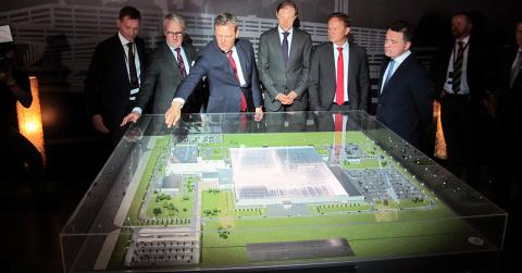 В Подмосковье началось строительство завода Mercedes
