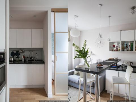 Отличный интерьер для маленькой квартиры