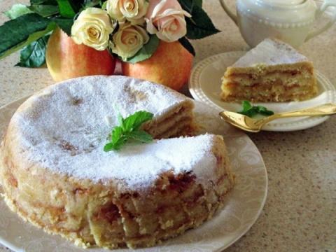 Болгарский яблочный пирог «3…