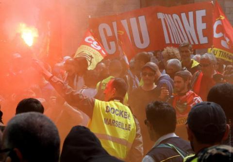 Забастовка во Франции грозит…