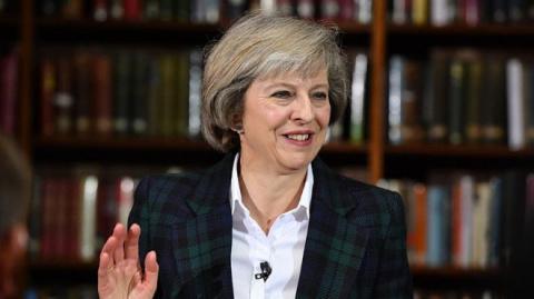Премьер Великобритании переп…