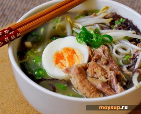ДЕНЬ ПЕРВОГО БЛЮДА. Японский суп рамэн