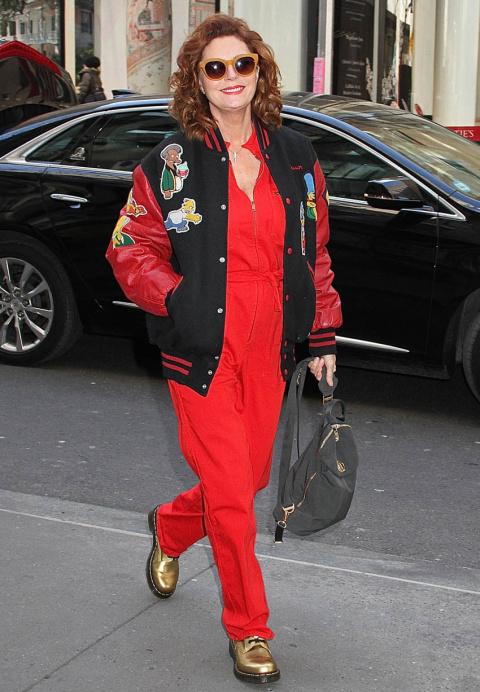 Сьюзан Сарандон в 70 лет удивила спортивным нарядом