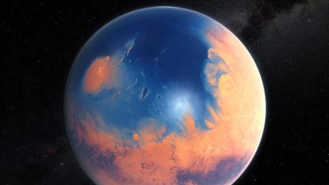 На поверхности Марса обнаруж…