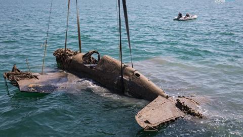 Строители Крымского моста по…