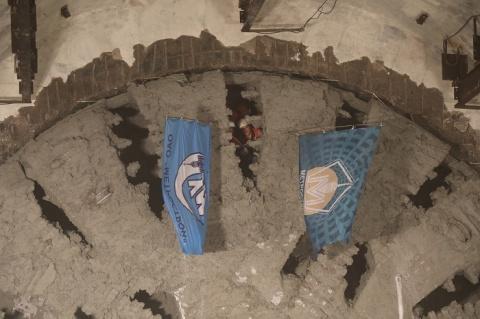 В Санкт-Петербурге закончена проходка второго двухпутного тоннеля метро
