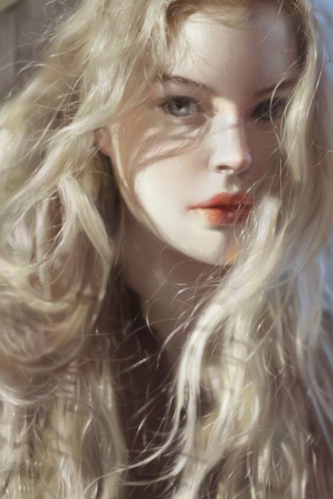Портреты красивых девушек ( 51фото )