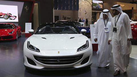 На автосалоне в Дубае предст…