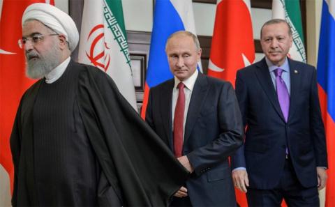 Сирия: сообразили на троих. …
