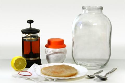 Чайный гриб: как чистить сос…
