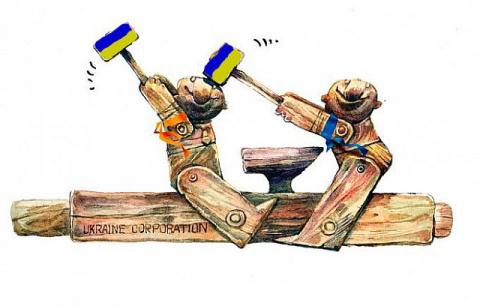 Украина - геморрой Европы