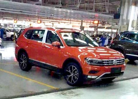 Фотошпионы запечатлели Volkswagen Tiguan 7 без камуфляжа