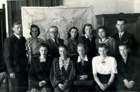 Школа рабочей молодёжи в 50-е годы