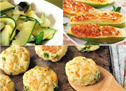 Блюда из кабачков: ТОП-3 великолепных рецепта
