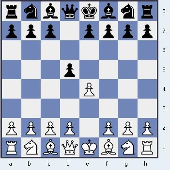 1.e4 d5 Скандинавская защита