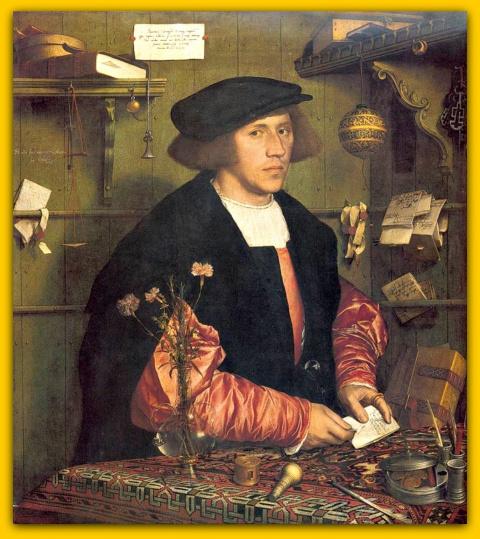 Портрет купца Георга Гиссе(1532)
