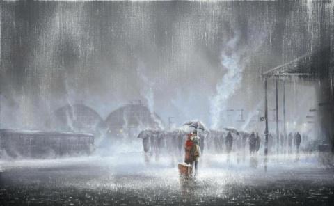 Художник, рисующий дождь (всем романтикам посвящается)