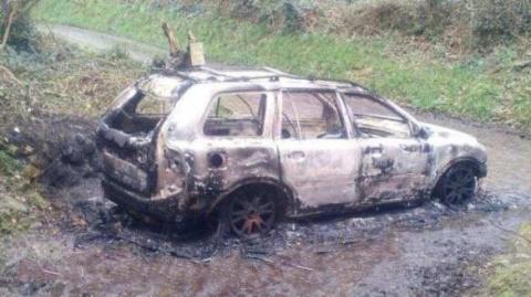 Пытали и сожгли в машине: в …