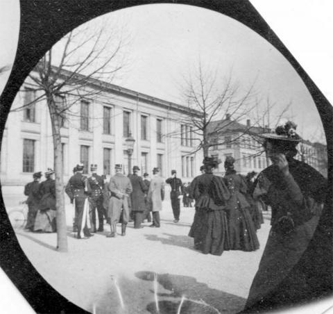 На фотографии 1890 года женщ…