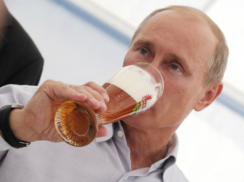 Любимые напитки российских политиков