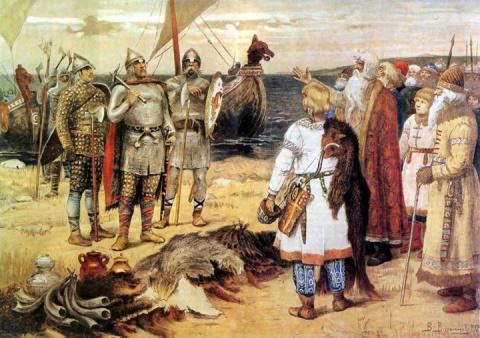 В Новгород княжить приглашал…