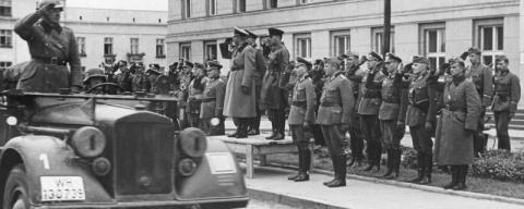 Совместный парад РККА и верм…