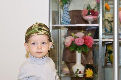 Керамическая флористика на выставке HobbyTime-Сибирь