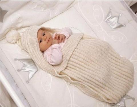 Конверт для новорожденного спицами. 25 способов украсить дом без затрат!