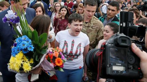 Зачем помиловали Надежду Савченко!?