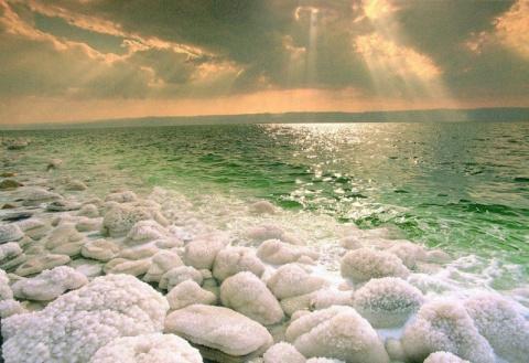 Мертвое море, Израиль (28 фото)