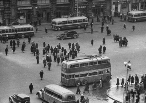 Двухэтажные троллейбусы и автобусы в СССР