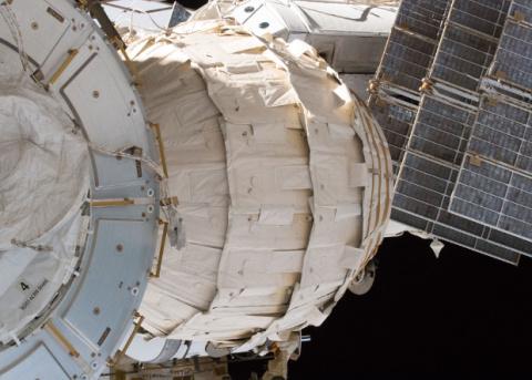 Надувной модуль BEAM «проживет» на МКС еще три года