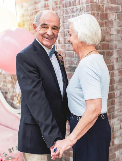 Настоящая любовь — они женаты уже 55 лет. С столько же неразлучны...