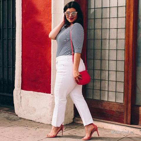 10 модных трендов для полных женщин весна-лето 2017