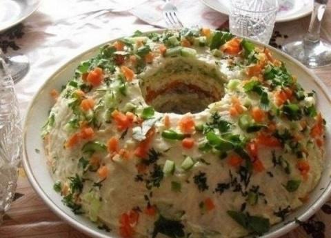 Салат «Кольцо»