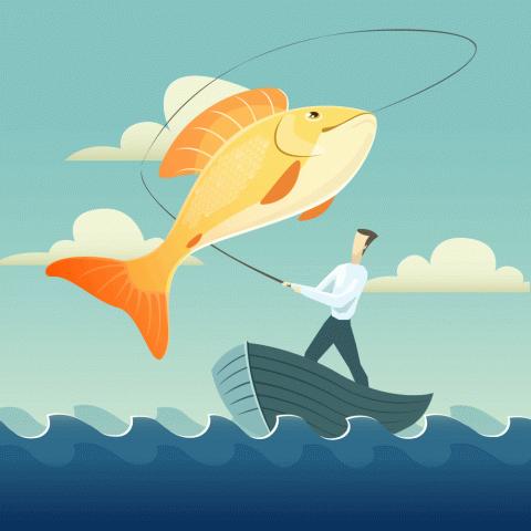 Поймал бедняк золотую рыбку ипопросил исполнить заветное желание…