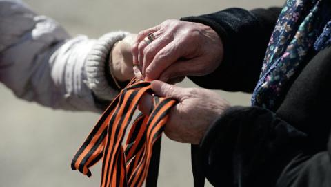 В украинском парламенте предложили отменить наказание за ношение георгиевских ленточек
