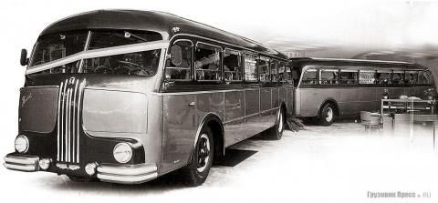 Автобусы, которые не умели ездить самостоятельно