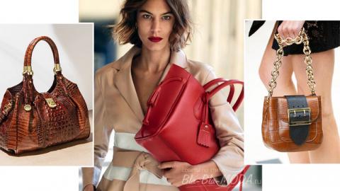 Модные женские сумки: 7 самых красивых сумок
