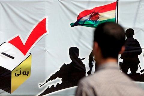 Явка на референдуме в Иракском Курдистане составила 78%