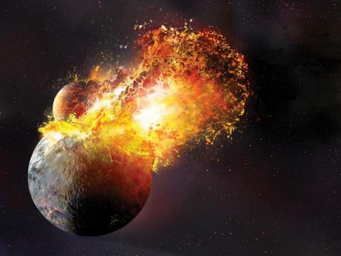 У Луны могла быть временная атмосфера из тяжелых элементов