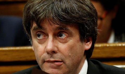 Лидер Каталонии Пучдемон ока…