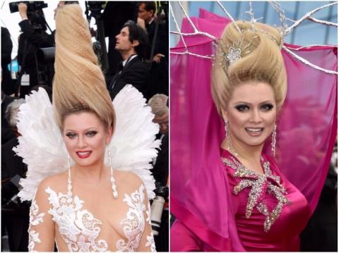 Российские и зарубежные знаменитости, которые обожают странные причёски