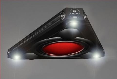 Житель Калифорнии рассказал об увиденном скоростном черном треугольном НЛО
