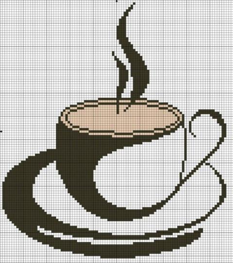 ВЫШИВАЙКА. Кофейные чашечки